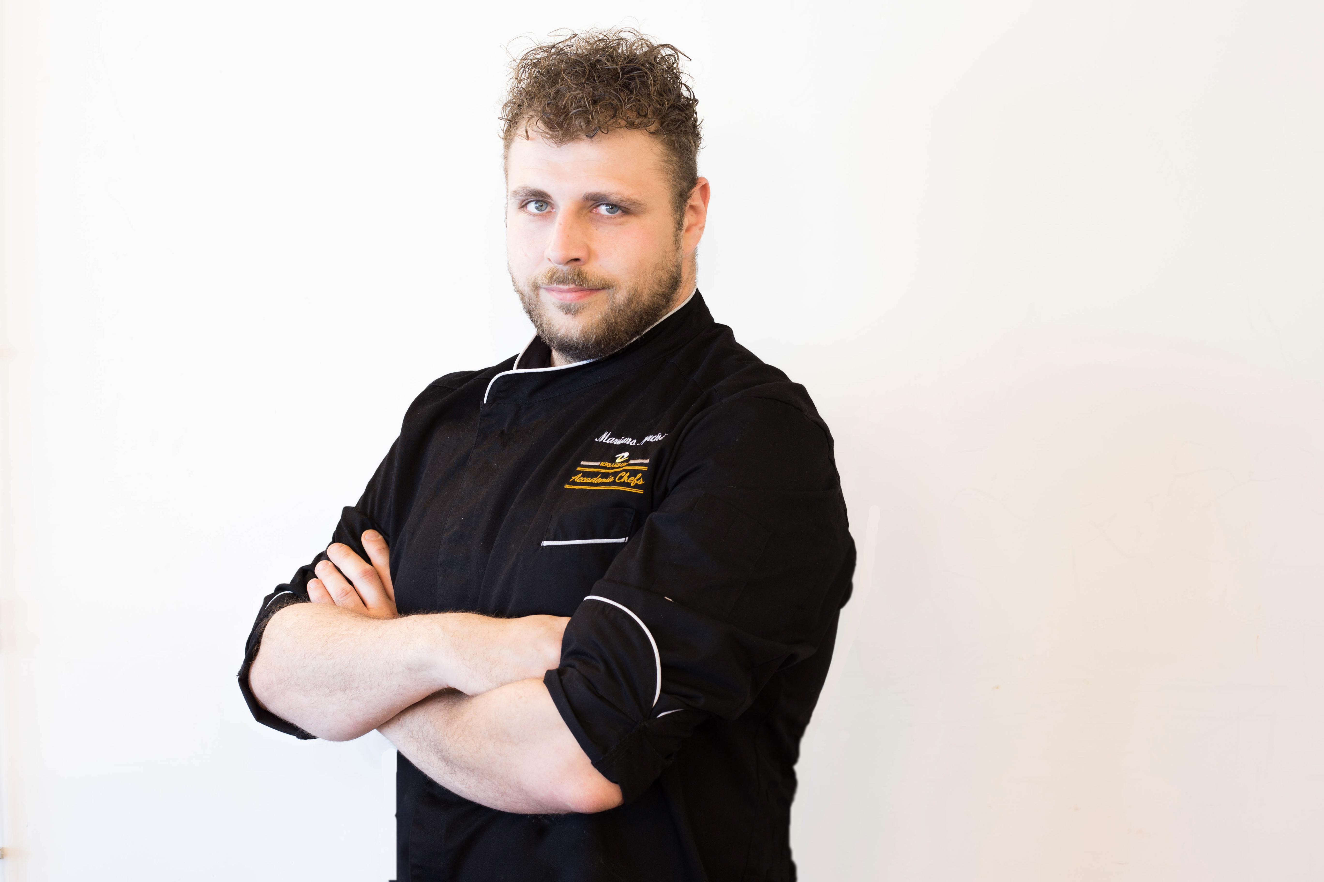 Chef Mariano Narcisi, docente di Accademia Chefs