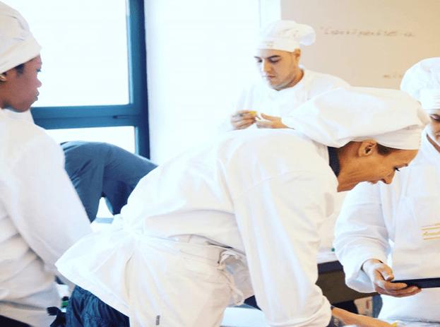 Una delle nostre classi di aiuto cuoco - Accademia chefs
