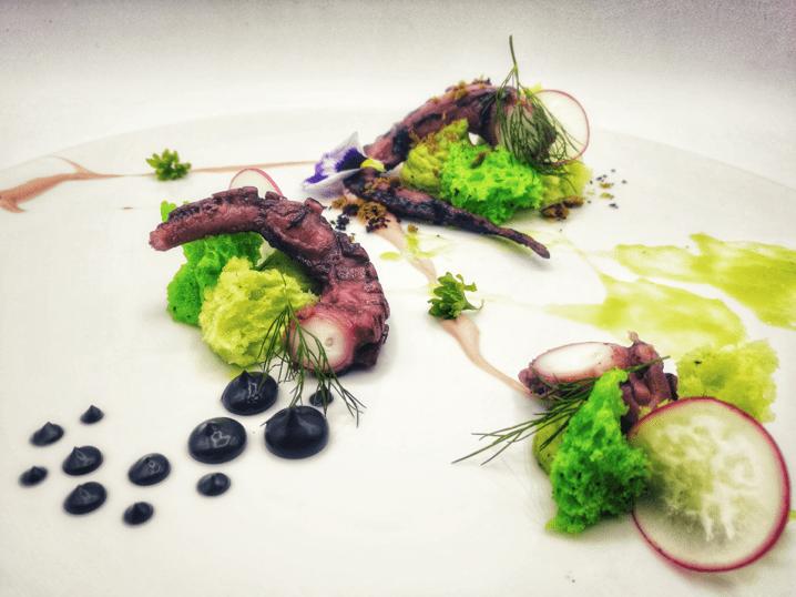 L'arte di decorare un piatto - Chef Mariano Narcis - equilibrio tra i colori