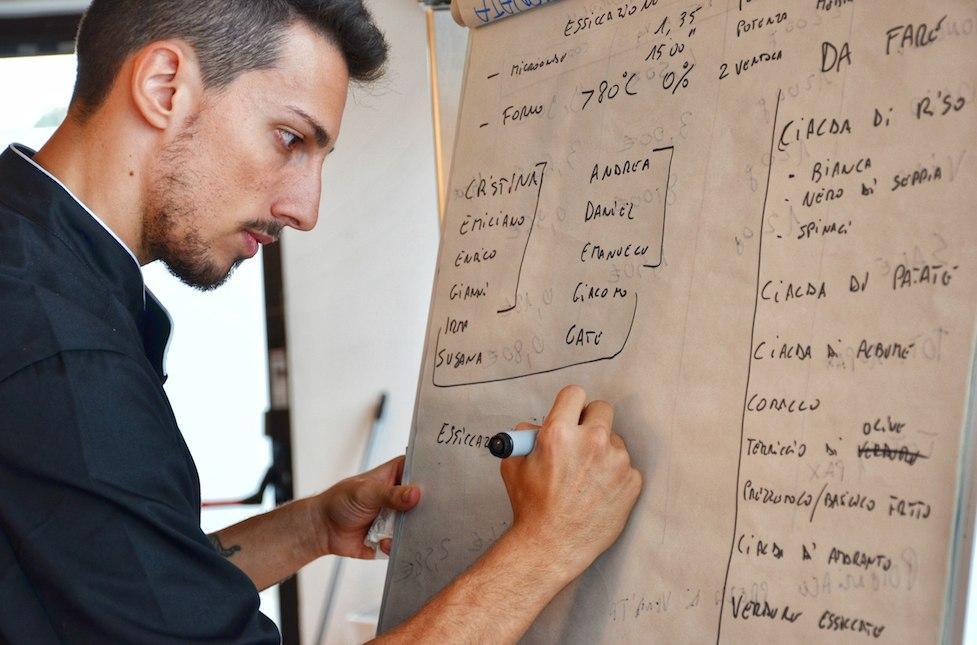 Valerio Giovannozzi- nuovo chef di Accademia Chefs