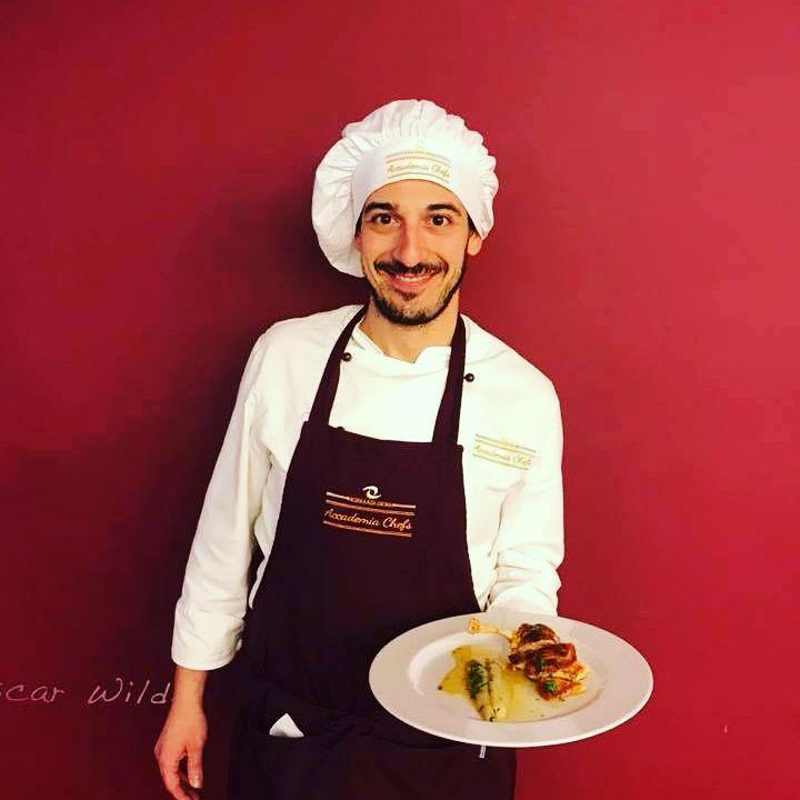 Alberto D'Agostino grande passione per la cucina